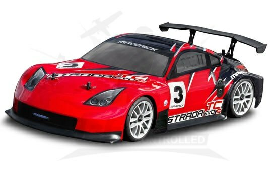 Maverick RC Car Strada TC Evo S Brushless EP 1/10 race car RTR
