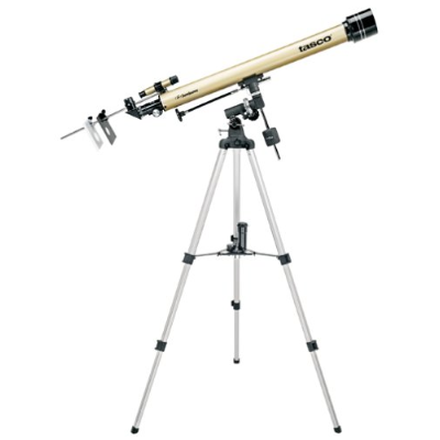 Tasco 60X900MM GOLD REFRACTOR 675X MAG, 6X24 FINDERSCOPE LUMINOV