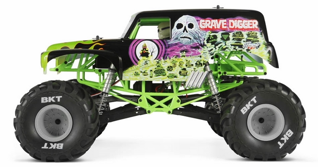 Axial Grave Digger rtr 1/10th