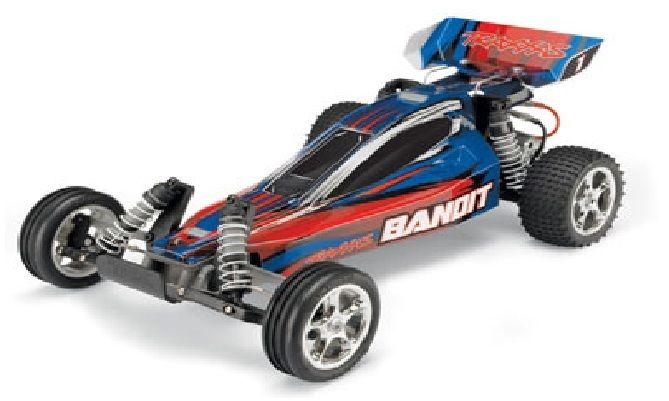 Traxxas Bandit 2wd rtr complete