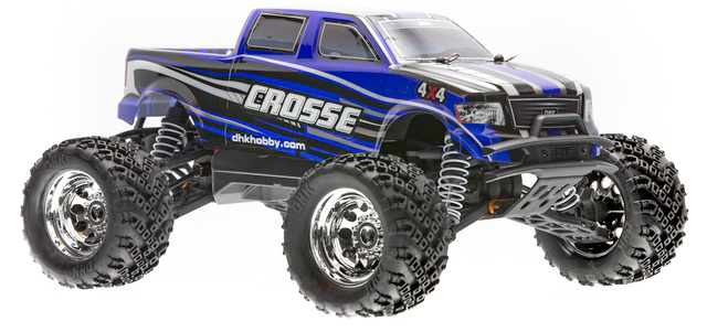 DHK Crosse 4wd bless Truck rtr rc car complete