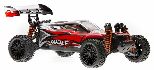 DHK WOLF 1:10 rc BUGGY, BRUSHED 4WD rtr complete