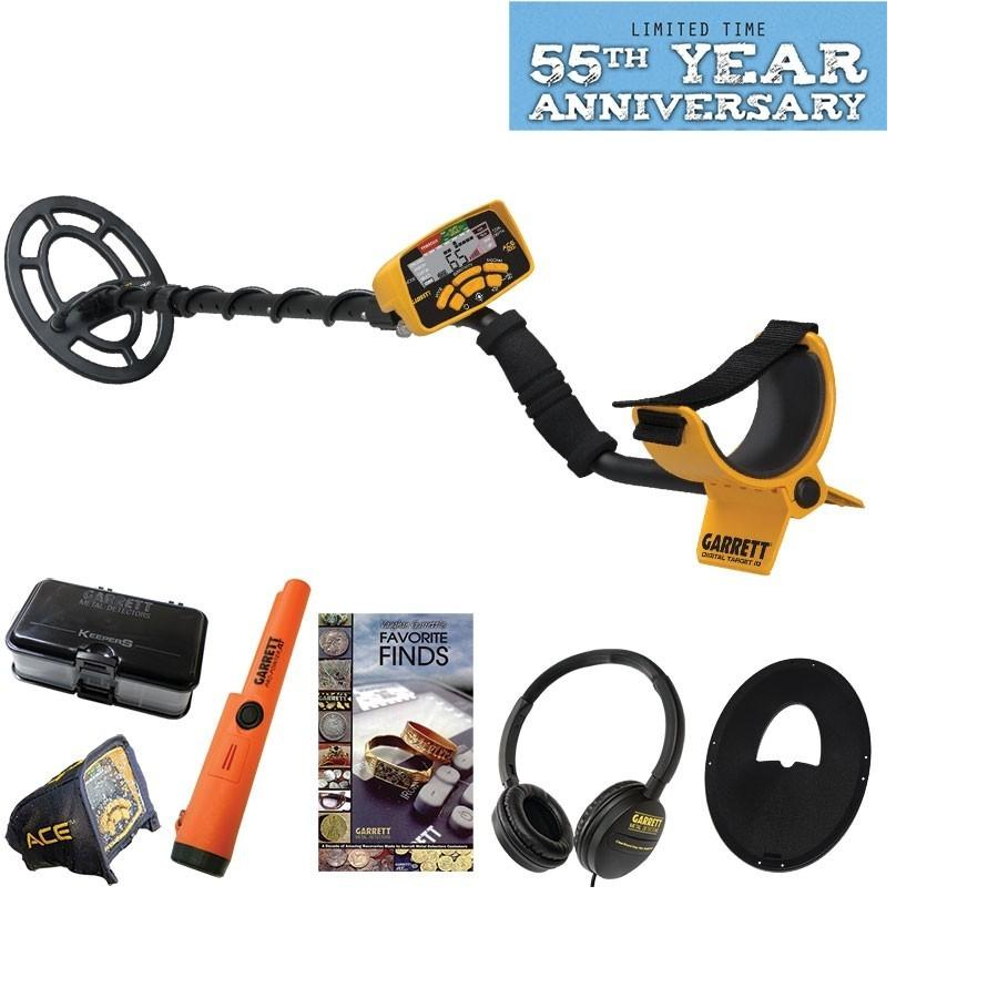 Garrett Ace 300i metal detector 55years anniversary pack