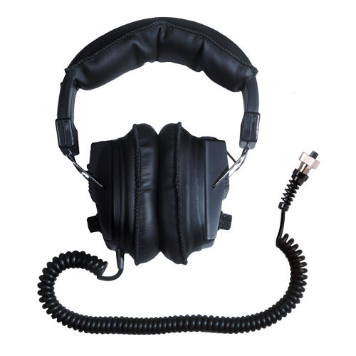 Garrett Master sound watertight connector headphones