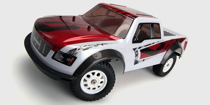 HBX BOMBER rc SCT, 1/12 4WD BRUSHED rtr complete