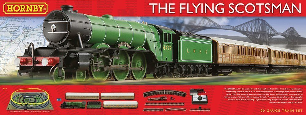 Hornby Flying Scotsman OO trainset complete