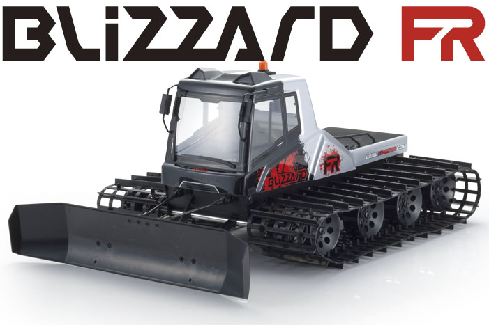 Kyosho Blizzard rtr complete rc track