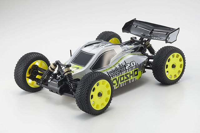 Kyosho DBX VE 2, rc brushless large 1/10 buggy, rtr