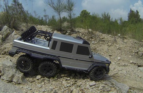 RC 6wd Crawler RTR Complete