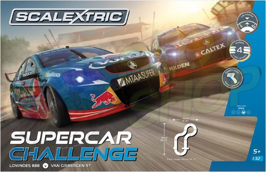 Scalextric Supercarchallengeset complete
