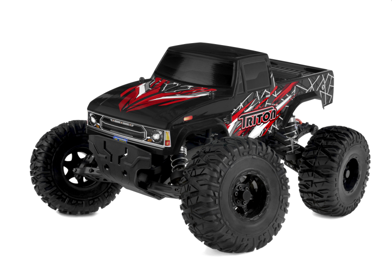 Team Corally - TRITON XP - 1/10 Monster Truck 2WD - RTR - Brushl