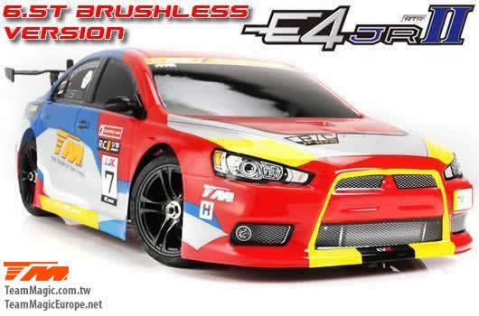Team Magic E4JR II 1/10 Brushless Touring Car EVX rc rtr