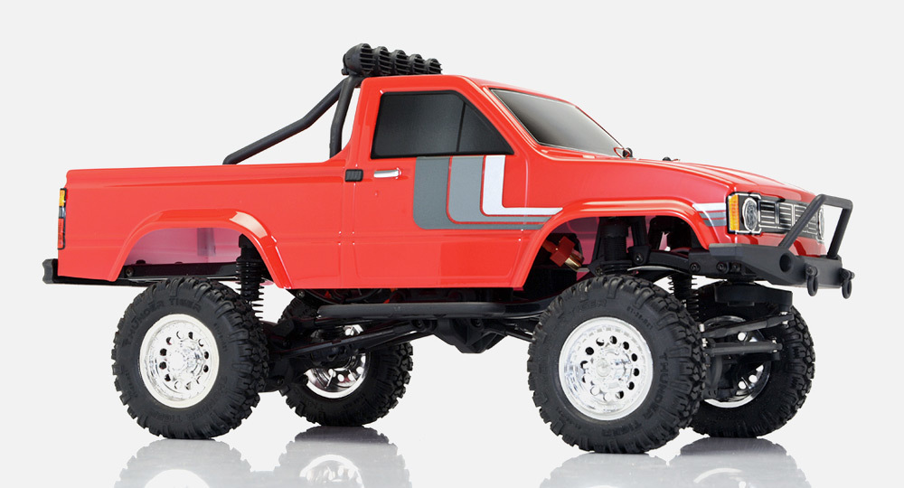 RC crawler Thunder Tiger 1/12 RTR Toyota Hilux red