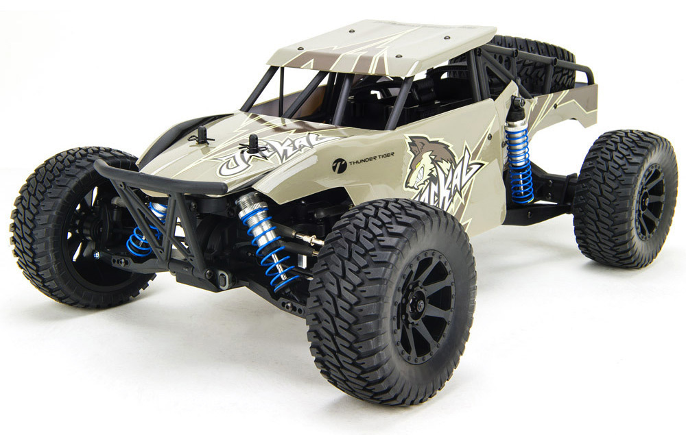 Rc buggy Thunder Tiger Jackal 1/10, RTR, Gray