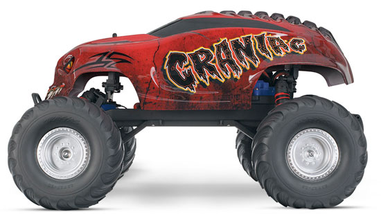 Traxxas Craniac RC Truck rtr complete