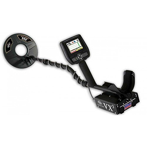 Whites VX3 multifrequency metal detector