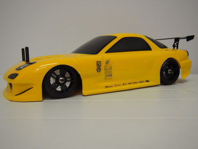 Team Magic E4D MF 1/10th RX7 drift brushed car rtr