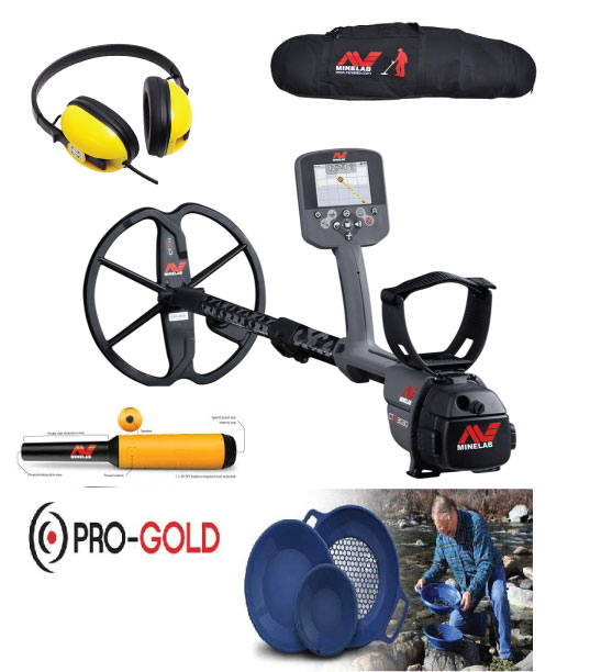 Minelab CTX3030 metal detector adventure pack