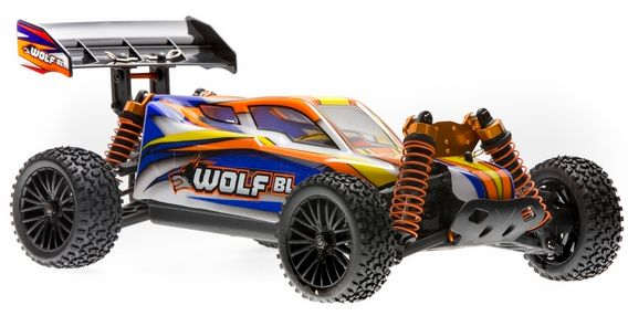 DHK WOLF 1:10 rc BUGGY,B/LESS,4WD rtr