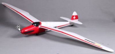 RC plane FMS Moa 1500mm White RTF