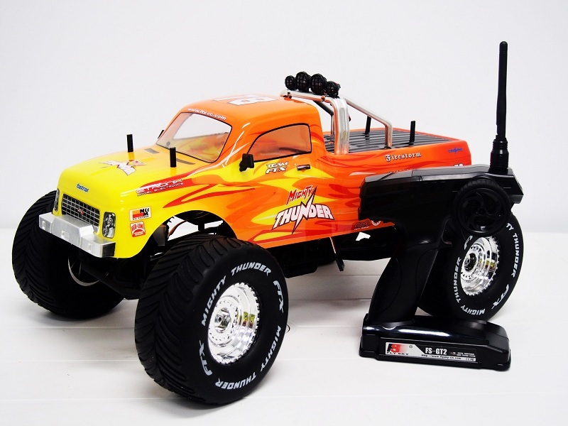 FTX 1/10 4wd RC monster truck mighty thunder rtr complete