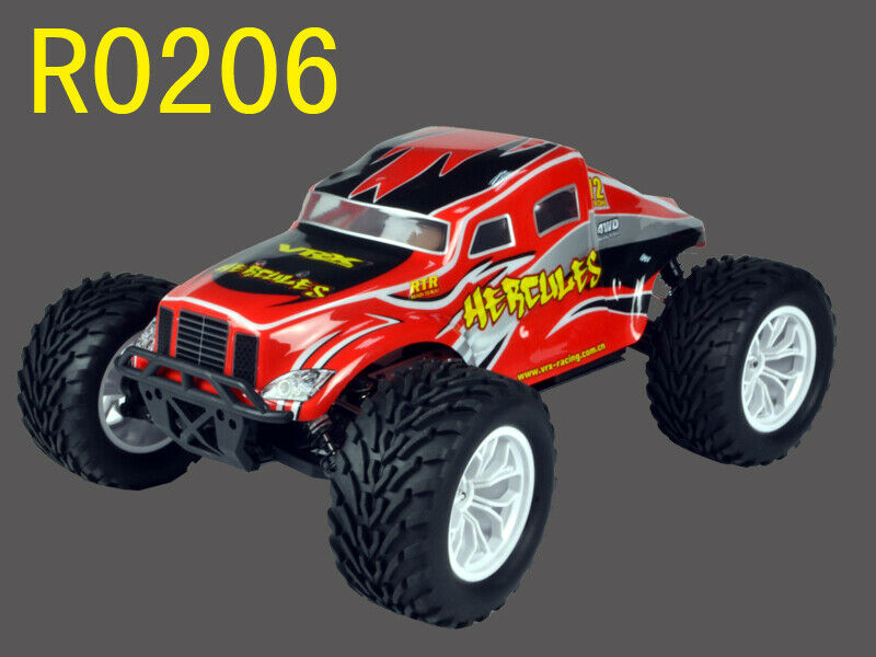 VRX Hercules EP 4WD fast rc truck 1/10 Rtr rc car + battery n ch