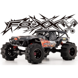 Kyosho Fox Nitro 1/8 rc truck rtr complete