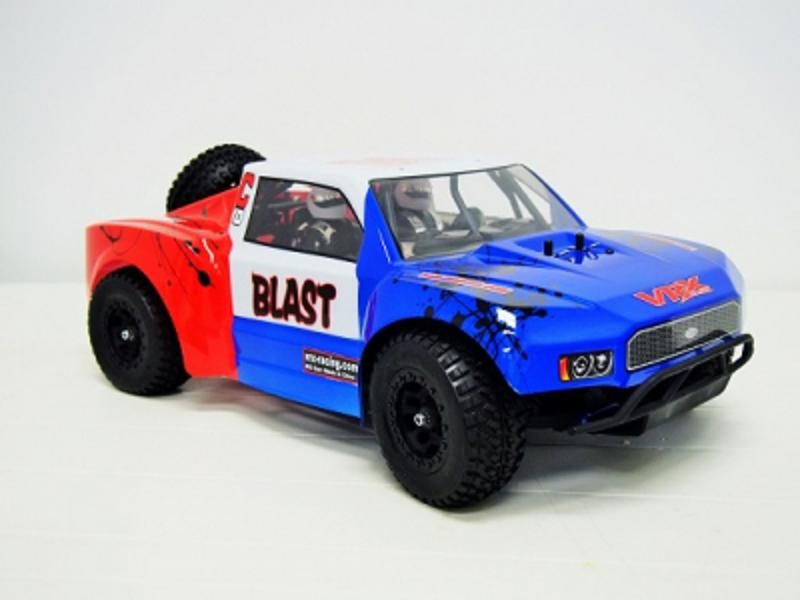 VRX Cobra BLAST2.0 large 1/10 Brushless RC fast Truck RTR comple