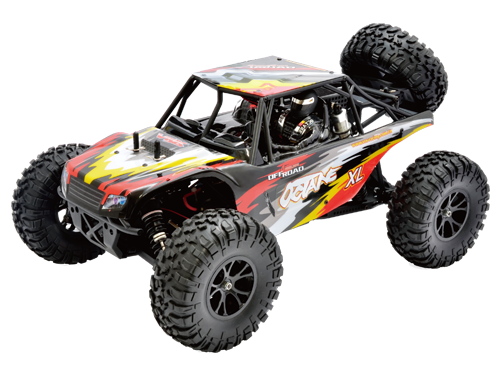 VRX OCTANE XL Brushed 4WD RTR complete