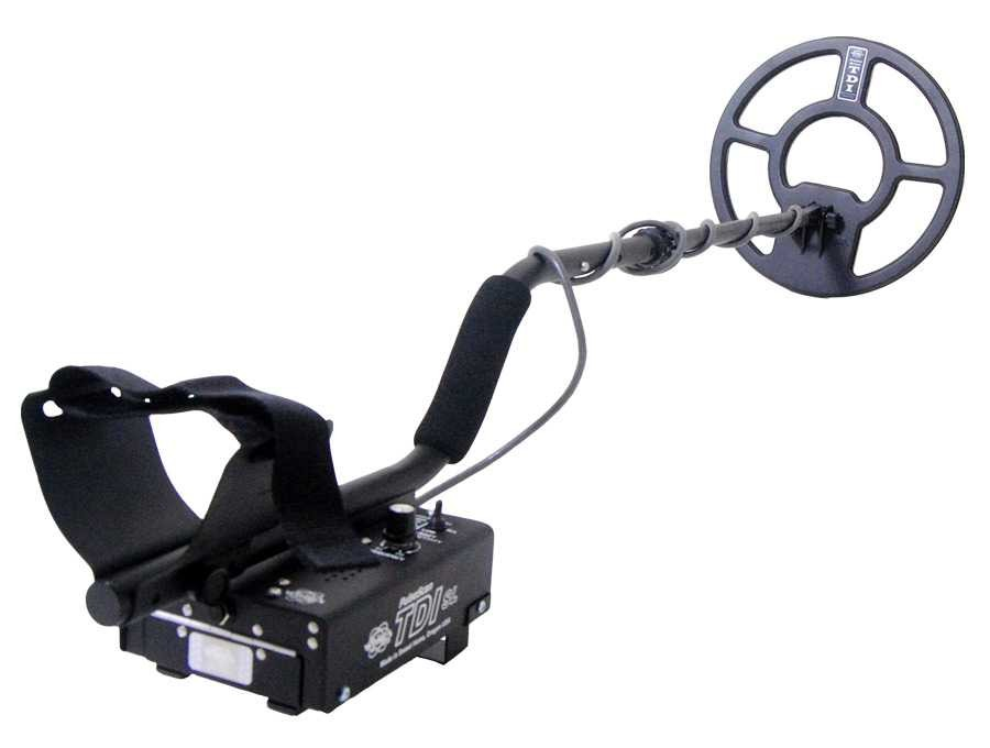 Whites TDI SL pulse induction metal detector. Gold Hunter.