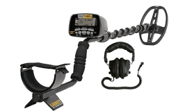 Garrett AT GOLD +pouch,skidplate 3m waterproof