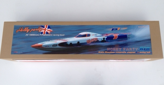 HobbyParty Race boat 930 rtr