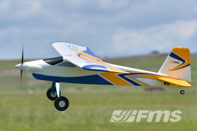 RC plane FMS Super EZ 1220mm Trainer RTF with floats